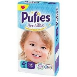Pufies Sensitive 4+/10-15кг/ 52 бр